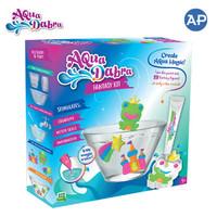 Aquadabra Fantasy Kit : Frog/Unicorn + 3 Paint Tube - Mainan Aquarium