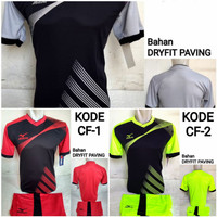 1 lusin/12 set baju kaos olahraga jersey stelan futsal voley bola CF