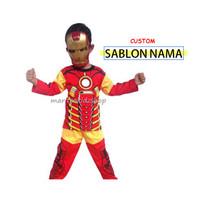 Baju Anak Murah / Stelan / Kostum Iron Man