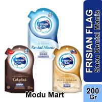 FRISIAN FLAG Vanila Cokelat Gold Full Cream Susu Kental Manis 200g