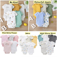 Jumper 5 in 1 Mamas Papas Hampers Baju Jumper Jumpsuit Bayi Baru Lahir - Be Kind, 3 - 6 M
