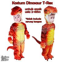 Kostum Dinosaur T-rex / Costume Dinosaurus Red T rex - Size S
