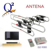 Antena Parabola Tv Mini Outdoor / Antena tv remote + booster Q2- 1080