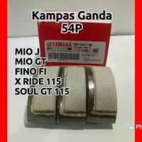 Kampas Ganda Mio J Kualitas orisinil untuk motor Soul Gt Fino fi
