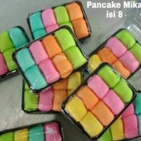 PANCAKE DURIAN/DUREN MEDAN Ukuran Mini Dengan Cream Isi 8 Paling Murah