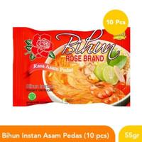 Paket Bihun Rosebrand Rose Brand Rasa Asam Pedas Instant 10Pcs 10 Pcs