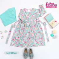 gamis anak perempuan gamis blossom Khaireen baju anak cewek