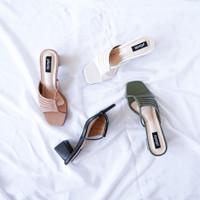 Pluvia - VENTI Sepatu Chunky Heels Wanita