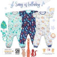 Libby Baby Setelan Baju Kaos Oblong Bayi Anak Pendek - Celana Panjang