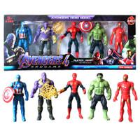 Mainan Robot Avengers 2 isi 5 pcs