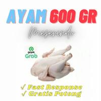 Ayam Utuh / Karkas / Potong merk Best Meat berat 600gr