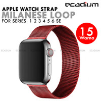 Strap Apple Watch Milanese Loop Stainless Steel for 1 2 3 4 5 6 SE