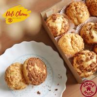Delichoux Kue Sus Soes Korean Style food Choux Cream Puff Homemade - Mix (Van&Cok)