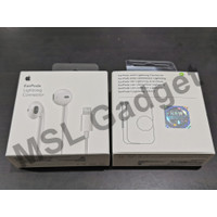 Headset Apple iPhone 7 Lightning Earpods Handsfree Original 100%