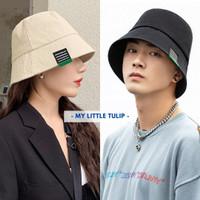 Bucket Hat Pria Wanita Polos Casual / Topi Bucket Cowok Cewek Korea