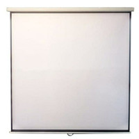 "Layar Manual 84"" (Screen Projector Wall 84"")"