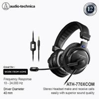 Audio-Technica ATH-770XCOM Stereo Headset Black
