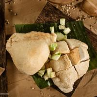 Pempek Ikan Belida Palembang Asli Telor Besar 1 pack 350gr