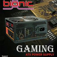Power Supply 500watt Bionic - Psu 500watt fan Besar Bionic Black