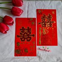 Angpao Sangjit/Angpau Uang Susu Lamar/Amplop Shuang Xi/Angpau Wedding