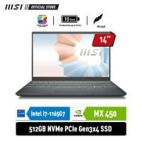 MSI Modern 14 B11SB [9S7-14D214-415] i7-1165G7 8GB 512GB MX450 2GB