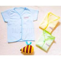 Baju Pendek Bayi Newborn Piyama Baby 0-6 Bulan SNI Boboko