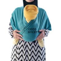 Geos Gendongan Kaos Instan 2 in 1 Gendongan Bayi Depan