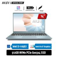 MSI Modern 14 B11MO [9S7-14D312-069] i7-1165G7 8GB 512GB INTEL iRIS Xe