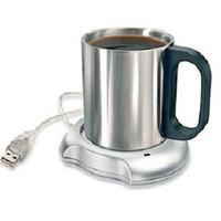 Pemanas Kopi Coffee Cup Warmer Pad with 4 USB 2.0 Ports Hub