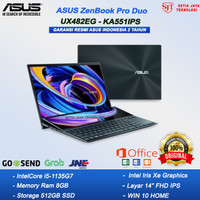 ASUS ZenBook Pro Duo UX482EG-KA551IPS I5-1135G7 8GB 512GB MX450