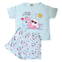 baju setelan anak perempuan komik snoopy umur 6-12 tahun/ baju komik - BF200, S