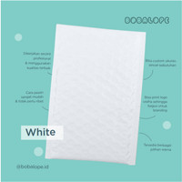 White Bubble Poly Mailer Packaging - 32x46 cm (Tanpa custom printing)