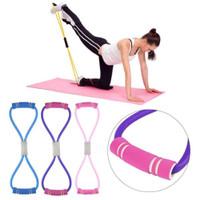 Tali Yoga Elastis Alat Olah Raga Elastic Band Fitness Gym Tali Karet