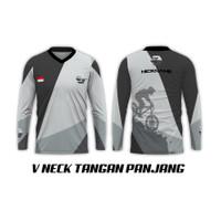 TwoSeasons |Baju Kaos Tshirt Pria Lengan Panjang Olahraga Sepeda 06