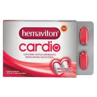 Hemaviton Cardio - 10 Tablet - Suplemen Penurun Kolesterol
