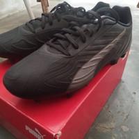 Sepatu bola puma one 20.4 size 42.5 fit 43 black hitam murah original