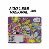 Voucher Axis Aigo 1.5GB 5hr