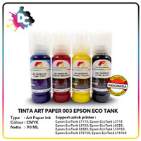 Tinta Art Paper Epson 003 F1 Ink 90ml set CMYK
