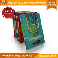 COD Al Quran Terjemah Rasm Utsmani Ash Shahib A4 Ukuran Besar Murah