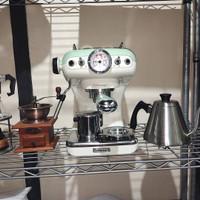 mesin kopi ariete vintage green