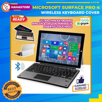 Microsoft Ms Surface Pro 4 4th Slim Keyboard Cover Wireless Bluetooth