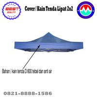 Terpal/Kain Atap Tenda Lipat 2x2 - Biru