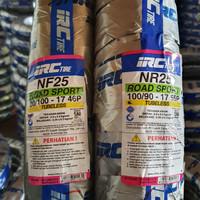 PAKET BAN MOTOR VERZA IRC TUBLESS 80/100-17 NF25 & 100/90-17 NR25