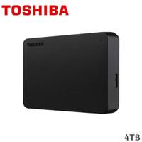 HARDISK EKSTERNAL TOSHIBA 4TB CANVIO BASIC HITAM