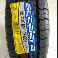 Ban mobil L300 murah R14 Accelera ultra3 185 C 8 PR Ring14 tubeles