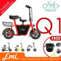 Fiido Q1 Sepeda Scooter Listrik 36V 250W 10.4Ah UL2272 Certified Bike