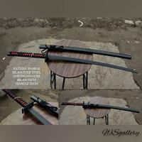 Katana Bankai Black Strip Steel