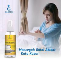 Spray Anti Tungau (Kutu Ranjang) Earthy Linen (Bed) Spray