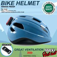 Helm sepeda anak-anak ultra ringan extra aman EPS foam kualitas tinggi