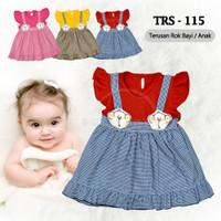 Baju Rok Terusan Bayi TRS-115 Rok Bayi Perempuan Dress Bayi